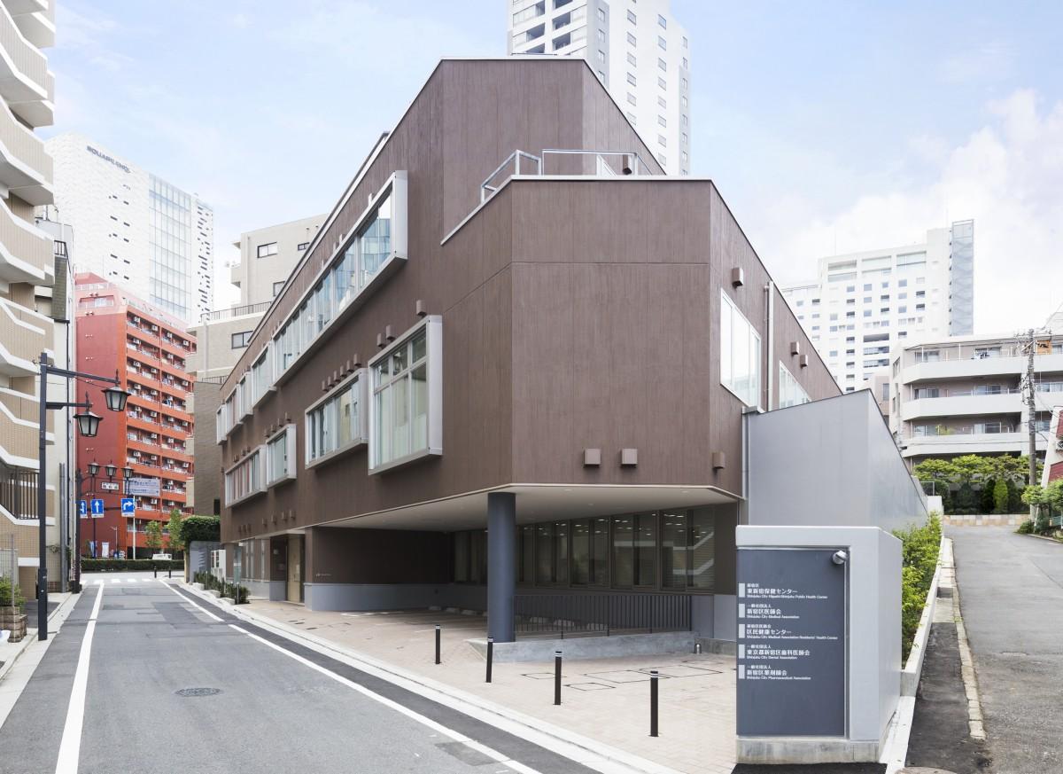 新宿区新宿保健センター・新宿区医師会館